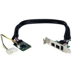 StarTech.com 3 Port 2b 1a 1394 Mini PCI