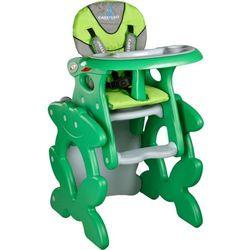 Krzesło do karmienia CARETERO ze stoliczkiem Primus zielony + DARMOWY TRANSPORT!