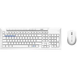 Zestaw klawiatura+mysz RAPOO 8200M Biały