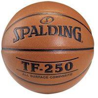 Koszykówka, Piłka koszykowa SPALDING TF-250 (rozmiar 6)