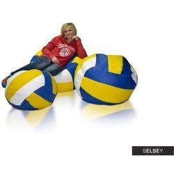 SELSEY Worek Sako Volleyball zestaw trzech piłek
