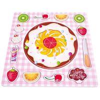 Puzzle, Dřevěné puzzle - Ovocný koláč neuveden