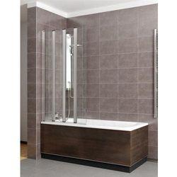 Radaway EOS PNW5 parawan nawannowy wys. 152 cm. szkło przejrzyste 205501-101