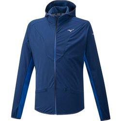 Mizuno Hybrid BT Bluza Mężczyźni, niebieski S 2020 Zimowe kurtki i kamizelki do biegania