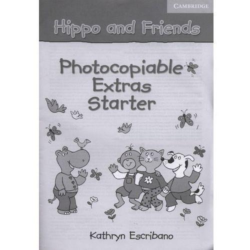 Książki do nauki języka, Hippo and Friends, Starter, Photocopiable Extras (opr. miękka)