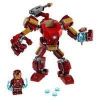 Klocki dla dzieci, 76140 MECH IRONMANA (Iron Man Mech) - KLOCKI LEGO SUPER HEROES