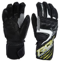 FISCHER SOFT SKI GLOVE RACE,BLACK
