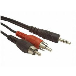 KABEL MINIJACK-2XRCA (CHINCH) M/M 5M- wysyłamy do 18:30