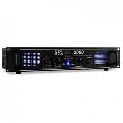 Skytec SPL-2000-EQ wzmacniacz Hi-Fi/PA 48cm efekt LED