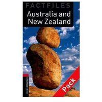 Książki do nauki języka, Australia And New Zealand + CD The Oxford Bookworms Library Factfiles Stage 3 (1000 Headwords) (opr. miękka)