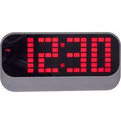 Budzik cyfrowy LED Loud Alarm Nextime czerwony (5211 RO)