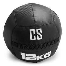Capital Sports Bravor piłka lekarska Wall Ball PCV podwójne szwy 12kg czarna