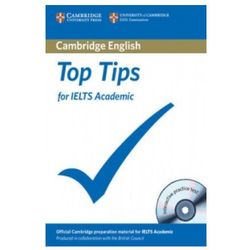 The Official Top Tips for IELTS Academic module + CD-ROM (ESOL) (lp) (opr. miękka)