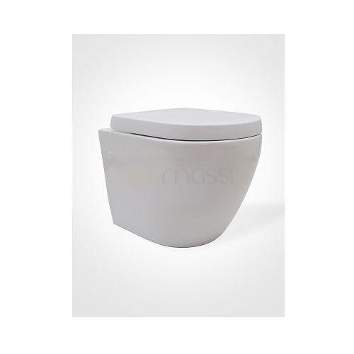 Deski i pokrywy do toalet, DECOS Deska wolnoopadająca do miski, polopropylen MSDS-3673PP * OSTATNIA SZTUKA W PROMOCJI!