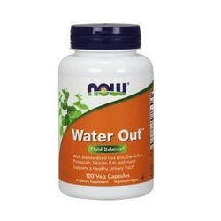 Suplement prozdrowotny NOW FOODS Water Out 100caps