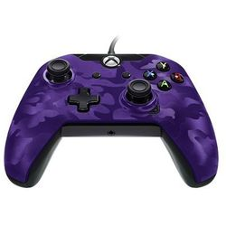 PDP Deluxe Wired Controller - Purple Camouflage - Gamepad - Microsoft Xbox One S