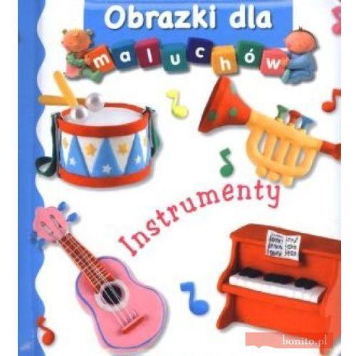 Książki dla dzieci, Instrumenty obrazki dla maluchów (opr. kartonowa)