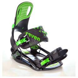 Wiązania snowboardowe Raven s220 (green) 2019