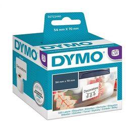 DYMO Large Multipurpose Labels Czarny, Biały 320szt. samoprzylepne etykiety