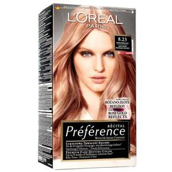Loreal Farba Recital Preference 8.23 Jasny Blond Opalizująco Złocisty 1op.