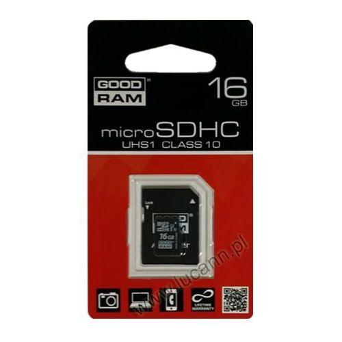 Karty pamięci, Karta pamięci microSD GOODRAM 16GB CL10 UHS-I