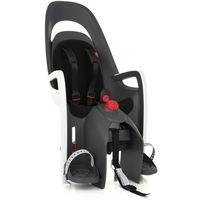 Foteliki rowerowe, Hamax Caress Fotelik dziecięcy bagażnik szary/biały 2018 Mocowania fotelików
