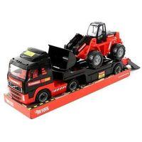 Traktory dla dzieci, MAMMOET samochód-holownik + traktor-ładowarka (podium)