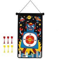 Gry dla dzieci, Magnetyczna gra w rzutki Janod - Roboty J02073