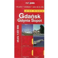 Przewodniki turystyczne, Gdańsk, Sopot, Gdynia. Plan miasta w skali 1:22 500, 1:24 000 (opr. miękka)