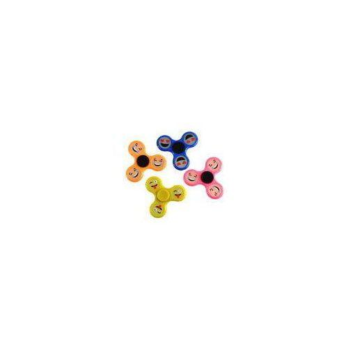 Pozostałe zabawki, Fidget Spinner Spiner Fluorescencyjne EMOJI miks