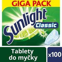 Pozostałe do mycia naczyń, Tabletki do zmywarki Sunlight Classic cytryna (100 sztuk)
