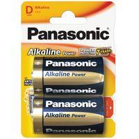 Baterie, 2 x Panasonic Alkaline Power LR20 / D (blister)