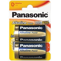 2 x Panasonic Alkaline Power LR20 / D (blister)