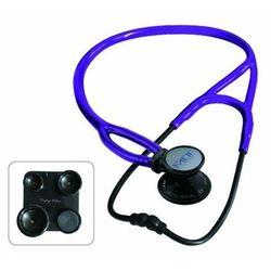 Stetoskop kardiologiczny MDF ProCardial ERA 797X lekki 6w1 - czarno-purpurowy