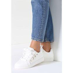 Białe Sneakersy Margarett