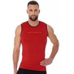 Brubeck sl10290 bezrękawnik męski 3d run pro czerwony