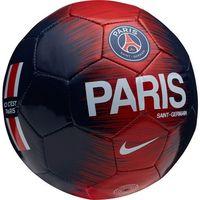 Piłka nożna, Piłka nożna Nike PSG Skils SC3337-421 granatowo-czerwona