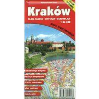 Mapy i atlasy turystyczne, KRAKÓW PLAN MIASTA 1:26 000 MAPA WODOODPORNA - Wysyłka od 3,99 - porównuj ceny z wysyłką (opr. miękka)