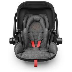 Kiddy Fotelik samochodowy Evoluna i-Size 2+Isofix Baza 2 Grey Melange Hot Red - BEZPŁATNY ODBIÓR: WROCŁAW!