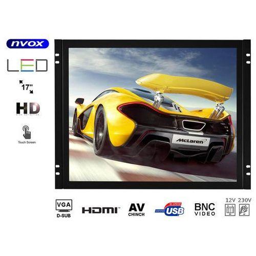 """Monitory samochodowe, Monitor dotykowy open frame LED 17"""" VGA HDMI BNC AV12V 230V"""