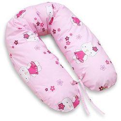 MAMO-TATO Poduszka dla kobiet w ciąży Kotki różowe