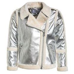 Outfit Kids METALLIC BORG COAT PRESS Kurtka ze skóry ekologicznej silver