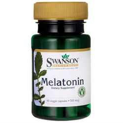 Melatonina Melatonin 500mcg 60 kapsułek SWANSON