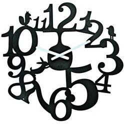 Zegar ścienny czarny Pi:p KZ-2327526