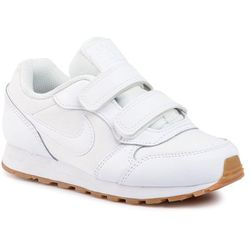 Buty NIKE - Md Runner 2 Flrl (Psv) CD9466 100 White/White/Gum Light Brown