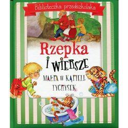 Biblioteczka przedszkolaka. Rzepka i wiersze - Natalia Usenko, Julian Tuwim, Aleksander Fredro (opr. twarda)