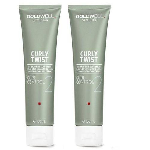 Inne kosmetyki do włosów, Goldwell StyleSign Curly Twist Curl Control | Zestaw: krem do loków 2x100ml