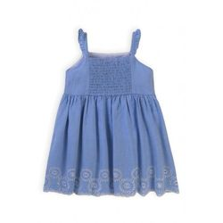 Bawełniana sukienka niemowlęca 6K40BU Oferta ważna tylko do 2031-04-15