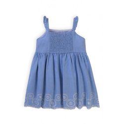 Bawełniana sukienka niemowlęca 6K40BU Oferta ważna tylko do 2031-09-09