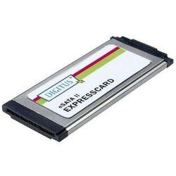 DIGITUS DS-31101-1 - storage controller - eSATA 3Gb/s - ExpressCard/34